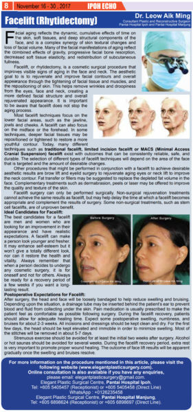 Facelift-(Rhytidectomy)